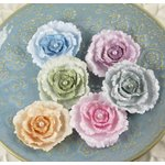 Prima - Angelous Collection - Fabric Flower Embellishments - Zadiel