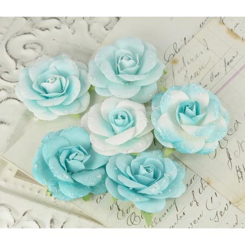 Prima - Love Letter Roses Collection - Flower Embellishments - Jude, CLEARANCE