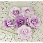 Prima - Love Letter Roses Collection - Flower Embellishments - Lilac