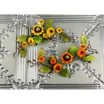Prima - Mountain Lily Vine Collection - Flower Embellishments - Sunflower