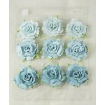 Prima - Sugarplum Roses Collection - Flower Embellishments - Caribbean
