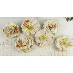 Prima - Orchard Mix Collection - Flower Embellishments - Sunglow, CLEARANCE