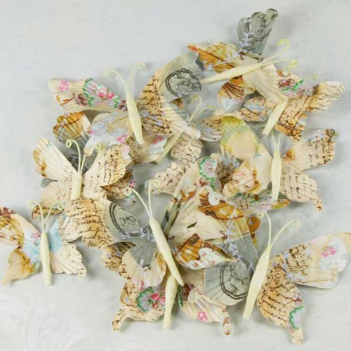 Prima - Butterflies Collection - Butterfly Embellishments - Farfalla
