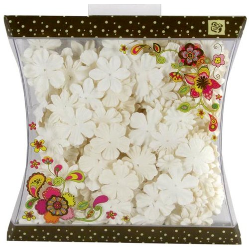 Prima - Craftable Flowers Collection - Flower Embellishments - Mix 6