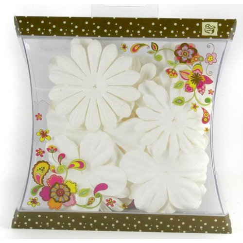 Prima - Craftable Flowers Collection - Flower Embellishments - Mix 4, CLEARANCE