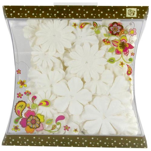Prima - Craftable Flowers Collection - Flower Embellishments - Mix 5, CLEARANCE