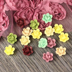 Prima - Arco Iris Collection - Flower Center Embellishments - Botanical