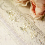 Prima - Say It In Crystals Collection - Self Adhesive Jewel Art - Bling - Ribbon Borders - Sparkling Spring
