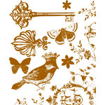 Prima - Madeline Collection - Clear Acrylic Stamps - Mix 2