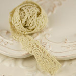 Prima - Alencon Collection - Tea Stained Cameo Crochet Spool - 30 Yards, CLEARANCE