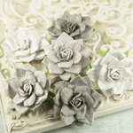 Prima - Arcadian Collection - Flower Embellishments - Weathered