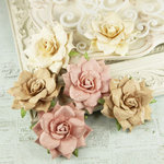 Prima - Arcadian Collection - Flower Embellishments - Rosy