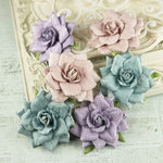 Prima - Arcadian Collection - Flower Embellishments - Violaceous