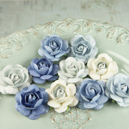 Prima - Angelica Rose Collection - Flower Embellishments - Bonnie