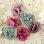 Prima - De Soie Collection - Fabric Flower Embellishments - Flowershop