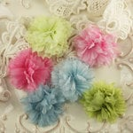 Prima - De Soie Collection - Fabric Flower Embellishments - Suffolk