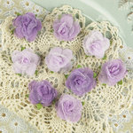 Prima - Champagne Rose Collection - Fabric Flower Embellishments - Zoe