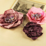 Prima - The Fitzgerald Collection - Fabric Flower Embellishments - Fairy Wing