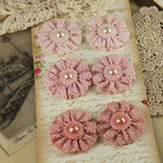 Prima - Classic Lace Collection - Fabric Flower Embellishments - Aria