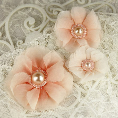 Prima - Millinery Collection - Fabric Flower Embellishments - Dandy