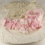 Prima - Mire Court Collection - Trim Embellishments - Powder Puff, BRAND NEW