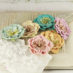 Prima - Softees Collection - Flower Embellishments - Annabel