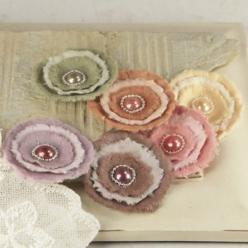 Prima - Softees Collection - Flower Embellishments - Bonnet