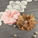 Prima - Matriarch Collection - Fabric Flower Embellishments - Coretta