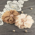 Prima - Matriarch Collection - Fabric Flower Embellishments - Lilith