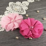 Prima - Matriarch Collection - Fabric Flower Embellishments - Ella