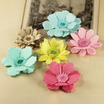 Prima - Dollhouse Collection - Flower Embellishments - Classic