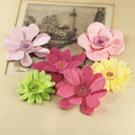 Prima - Dollhouse Collection - Flower Embellishments - Molly