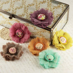 Prima - Trinket Collection - Fabric Flower Embellishments - Melody