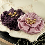 Prima - Dechire Collection - Fabric Flower Embellishments - Joy