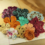 Prima - Love Note Collection - Flower Embellishments - Madeline