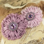 Prima - Regent Collection - Fabric Flower Embellishments - Victoria