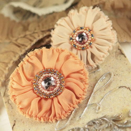 Prima - Regent Collection - Fabric Flower Embellishments - Cavendish