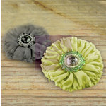 Prima - Regent Collection - Fabric Flower Embellishments - Hamlet, BRAND NEW