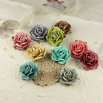 Prima - Sugar Blooms Collection - Flower Embellishments - Celebrate Jack and Jill