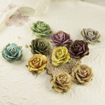 Prima - Sugar Blooms Collection - Flower Embellishments - Botanical