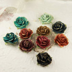 Prima - Sugar Blooms Collection - Flower Embellishments - Moulin Rouge