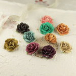 Prima - Sugar Blooms Collection - Flower Embellishments - Melody