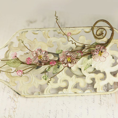 Prima - Cinderella Collection - Vine Border - Daisy