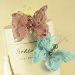Prima - Butterfly Kiss Collection - Butterfly Embellishments - Reflections