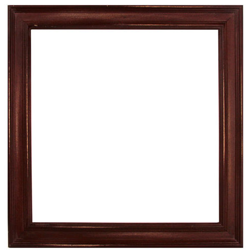 Prima - 12 x 12 Wood Frame - Antique Brown