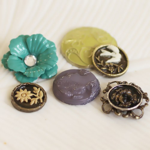Prima - Alla Prima Collection - Vintage Buttons