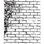 Prima - Clear Acrylic Stamps - Brick 1