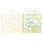 Prima - Pixie Glen Collection - Resist Canvas - Shapes