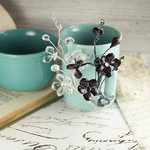 Prima - Crystal Palace Collection - Vine Embellishments - Black Ice