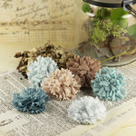 Prima - Powder Puffs Collection - Fabric Flower Embellishments - Marie